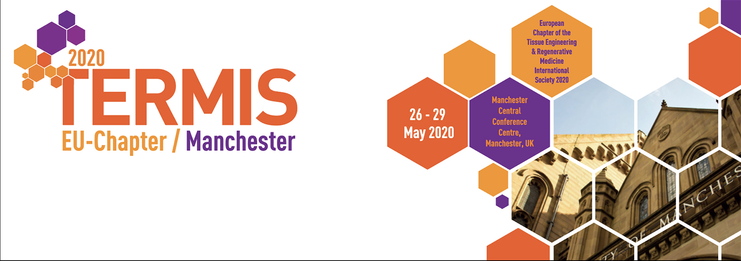 TERMIS EU 2020 - May 26-29 2020 - Manchester, UK